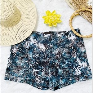 Attention Brand Tropical Shorts.